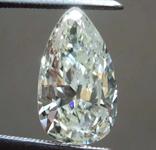 SOLD.....2.54ct M-N SI2 Pear Shape Diamond R8326