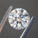 1.25ct G I1 Round Brilliant Diamond R8472