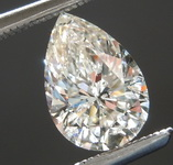 SOLD...1.02ct K I1 Pear Shape Diamond R8485