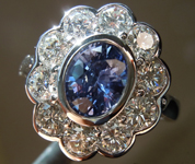 SOLD....1.40ct Blue Oval Shape Sapphire Ring R8600
