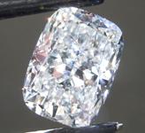 3.22ct F VS1 Cushion Cut Lab Grown Diamond R9397