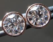 2.02ct E SI1 Round Brilliant Lab Grown Diamond Earrings R9623