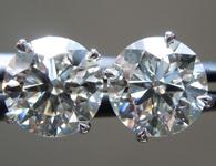 2.00ctw E SI1 Round Brilliant Lab Grown Diamond Earrings R9671