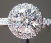 1.06ct E SI1 Round Brilliant Lab Grown Diamond Ring R9673