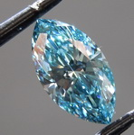 0.71ct Greenish Blue SI1 Marquise Lab Grown Diamond R9548