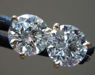 2.03ctw E SI1 Round Brilliant Lab Grown Diamond Earrings R9670